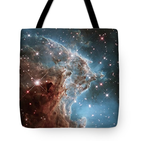 Tote Bag featuring the photograph Monkey Head Nebula by Marco Oliveira
