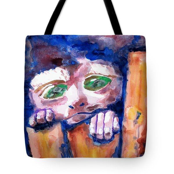 Monkey See Tote Bag