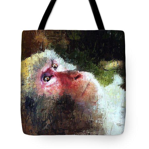 Monkey Wisdom Tote Bag
