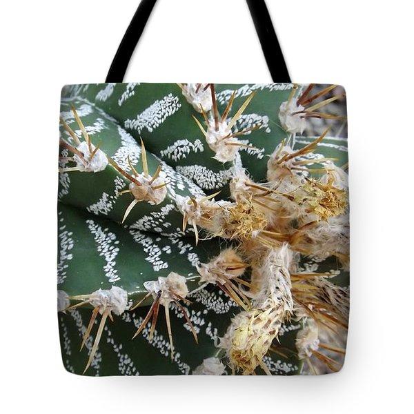 Monk's Hood Cactus Tote Bag