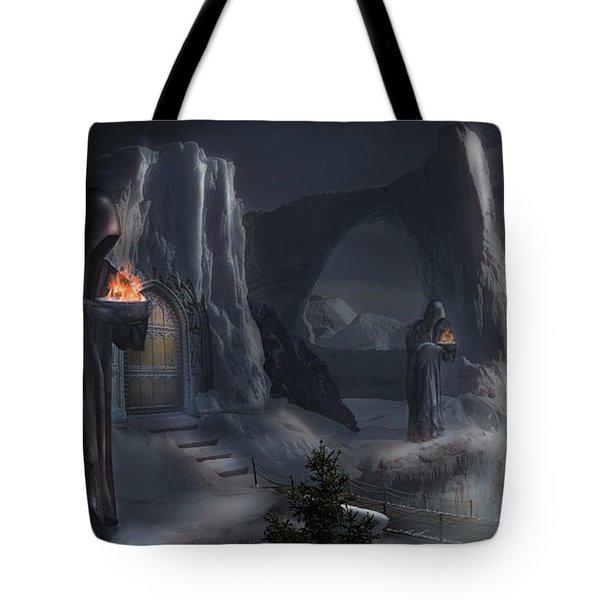 Monks Mountain Tote Bag