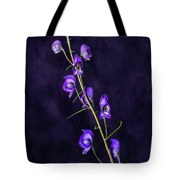 Monkshood Version 2 Tote Bag
