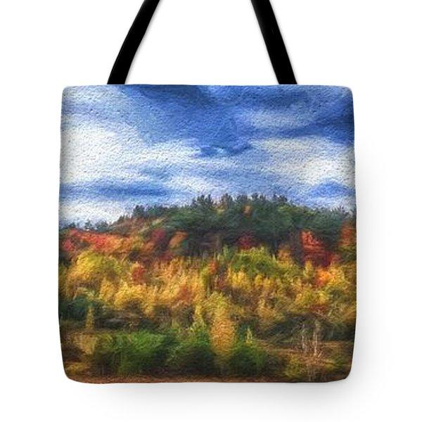 Monkton Ridge, Vt Tote Bag