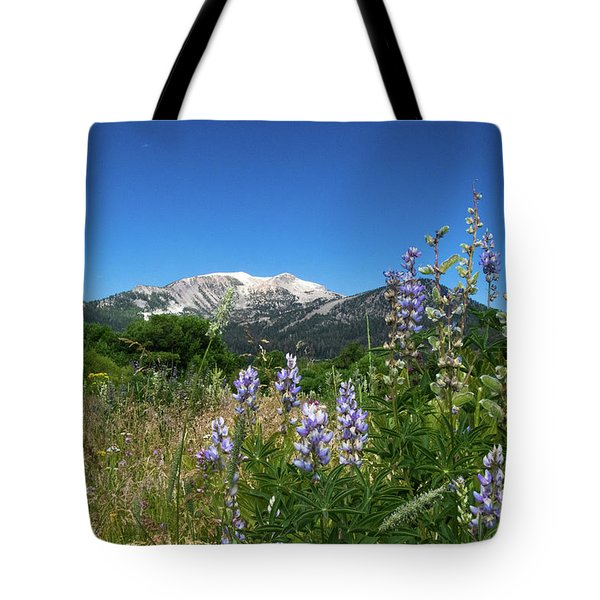 Mammoth Meadow   Tote Bag