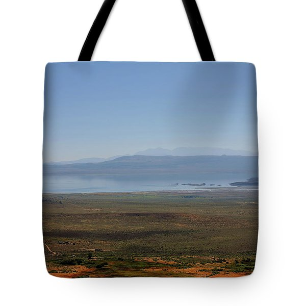 Mono Basin Landscape - California Tote Bag by Christine Till