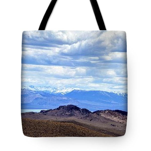 Mono Lake From Bodie Hills Tote Bag
