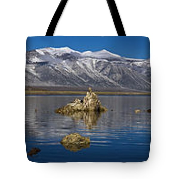 Mono Lake Pano Tote Bag by Wes and Dotty Weber