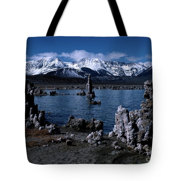 Mono Lake-signed Tote Bag