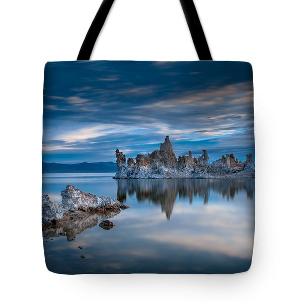 Mono Lake Tufas Tote Bag by Ralph Vazquez
