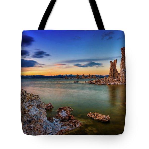 Mono Sunset Tote Bag