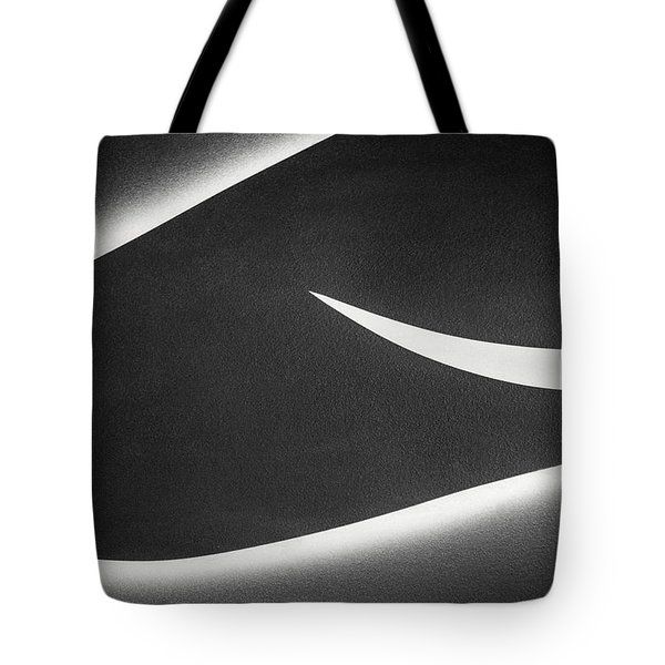 Monochrome Abstract Tote Bag