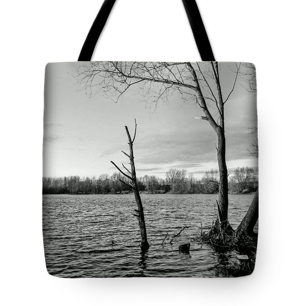 #monochrome #bnw #nokia #lumia Tote Bag