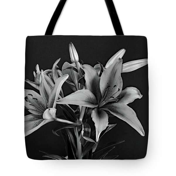 Tote Bag featuring the photograph Monochrome Grace by Dorin Adrian Berbier