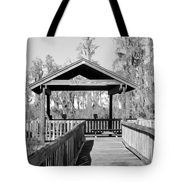 Monochrome Osprey Overlook Shelter Tote Bag