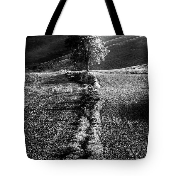 Monochrome Valley Tote Bag