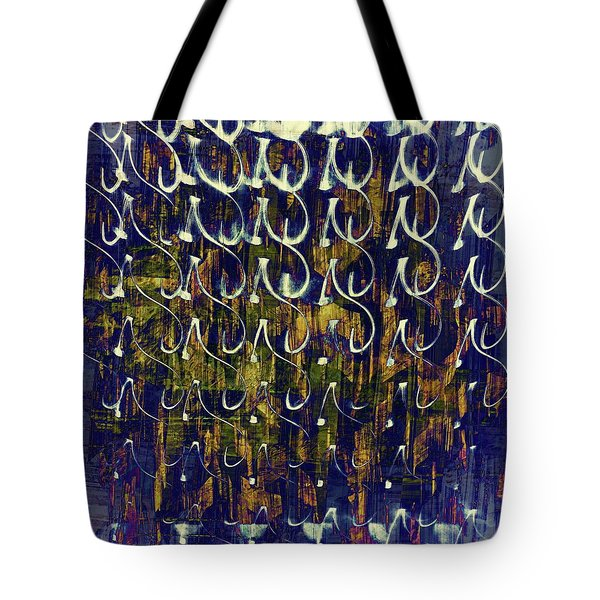 Tote Bag featuring the photograph Monogram by Dutch Bieber