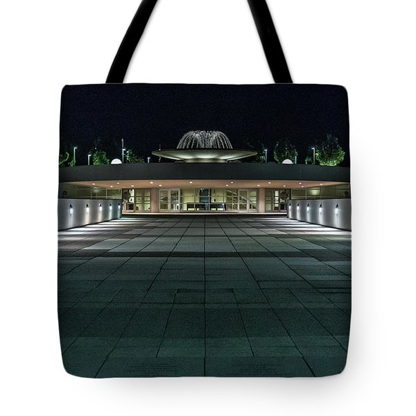 Monona Terrace Tote Bag by Randy Scherkenbach