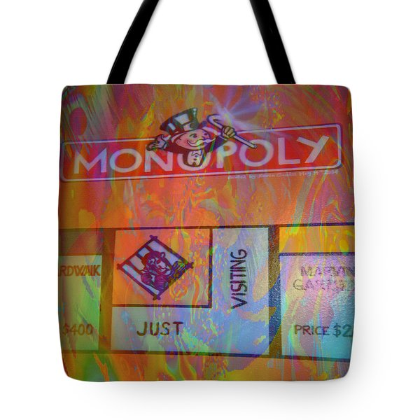 Monopoly Dream Tote Bag by Kevin Caudill