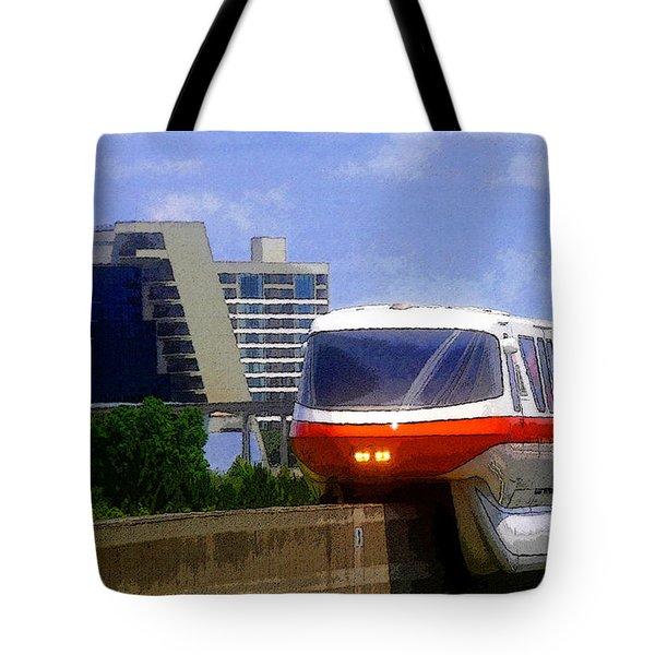 Monorail Tote Bag