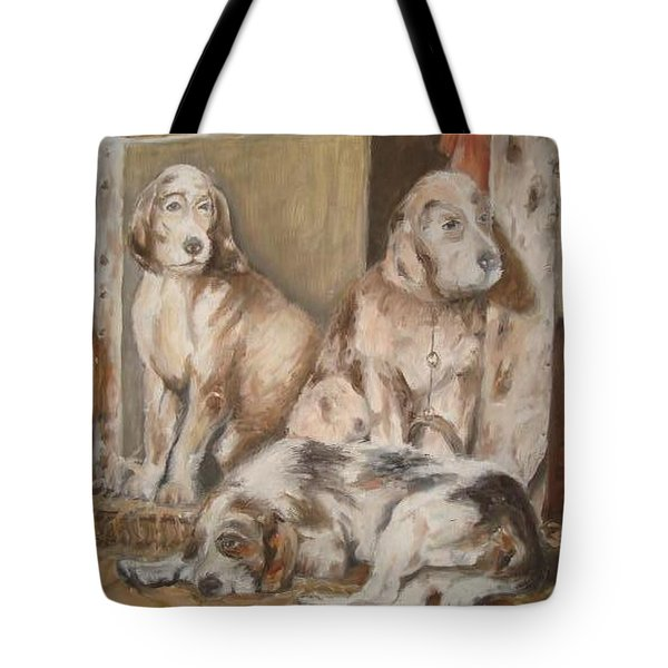 Tote Bag featuring the painting Monotony by Rushan Ruzaick