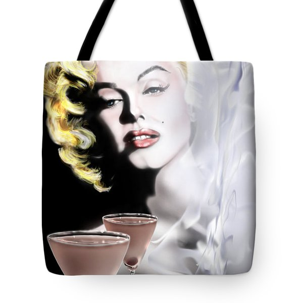 Monroe-seeing Beyond Smoke-n-mirrors Tote Bag