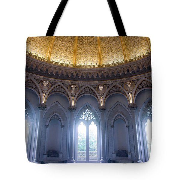 Tote Bag featuring the photograph Monserrate Palace Room by Carlos Caetano