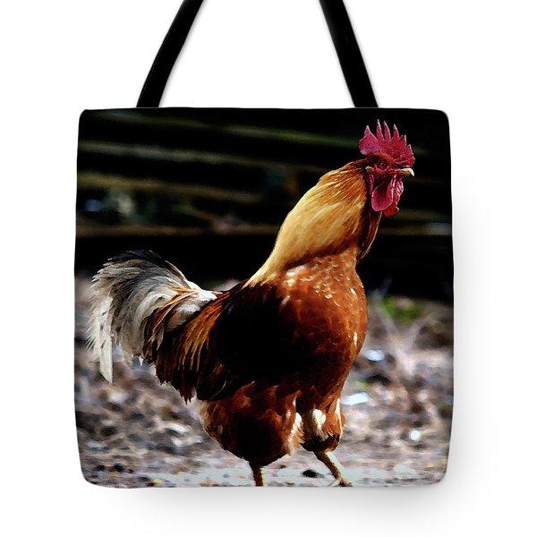 Monsieur Coq  Tote Bag
