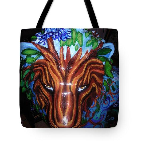 Monsieur De Lioncourt Tote Bag by Genevieve Esson