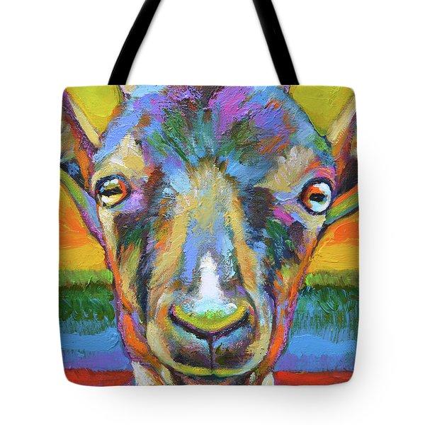 Monsieur Goat Tote Bag