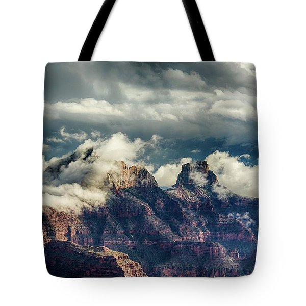 Monsoon Clouds Grand Canyon Tote Bag