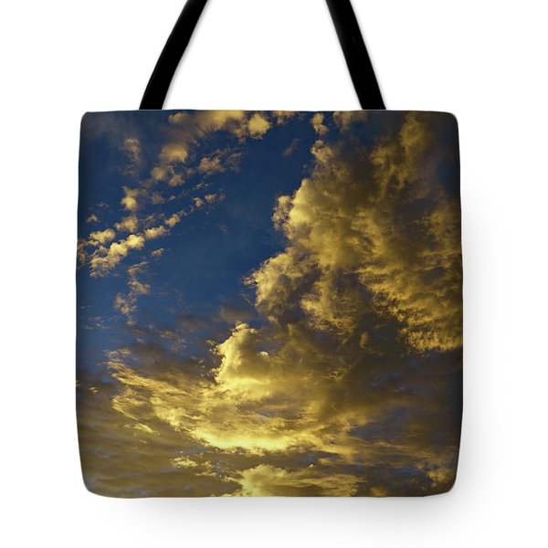 Monsoon Warmth Tote Bag