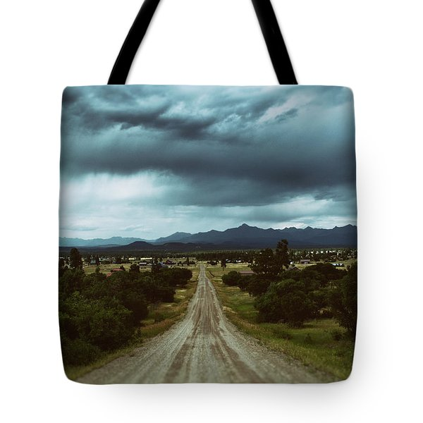 Monsoons From The Meadows Tote Bag by Jason Coward