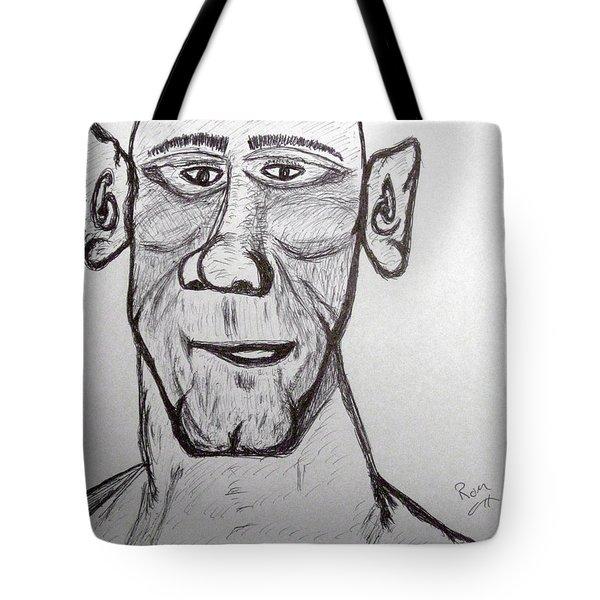 Monster Tom And His Radar Ears Tote Bag by Robert Margetts