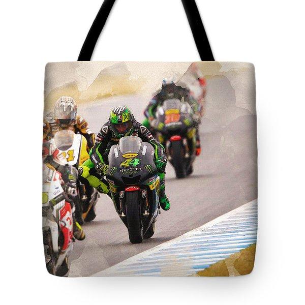 Monster Yamaha Tech 3, Tote Bag