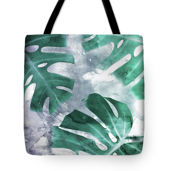 Monstera Theme 1 Tote Bag
