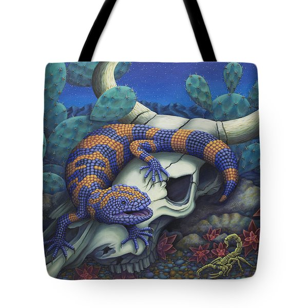 Monsters In The Night Tote Bag