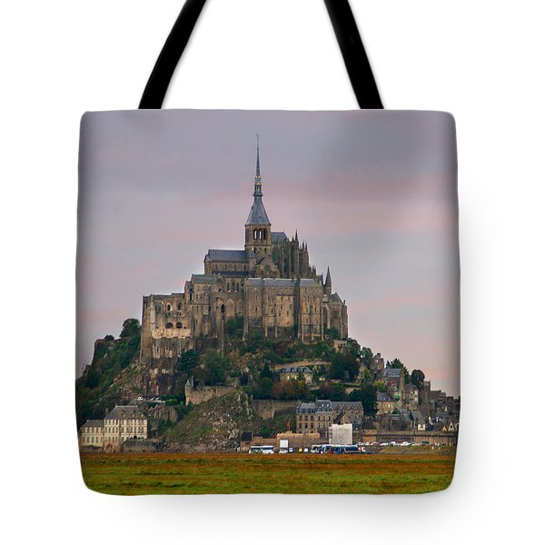 Mont Saint Michel Tote Bag