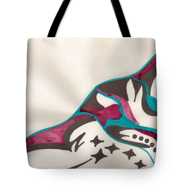 Montagne Tote Bag by Mary Mikawoz