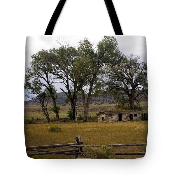 Montana Homestead Tote Bag by Marty Koch