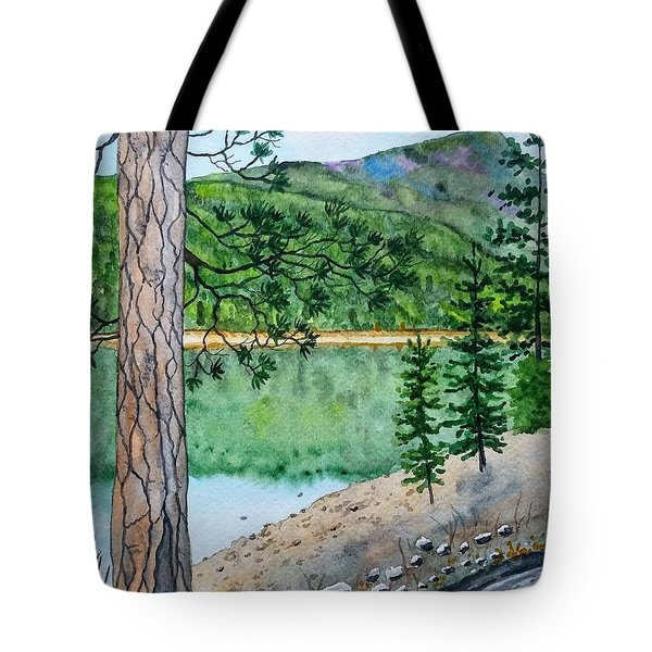 Montana - Lake Como Tote Bag