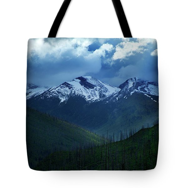 Montana Mountain Vista #2 Tote Bag