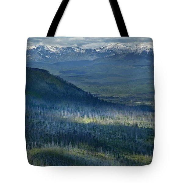 Montana Mountain Vista #3 Tote Bag