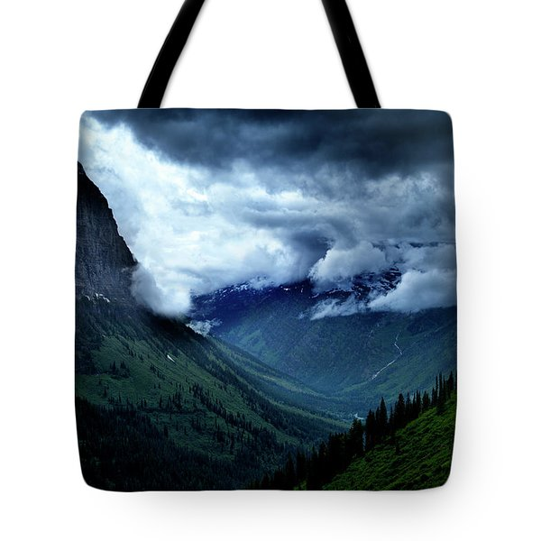 Montana Mountain Vista Tote Bag
