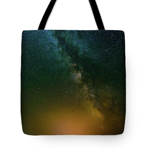 Montana Night Tote Bag