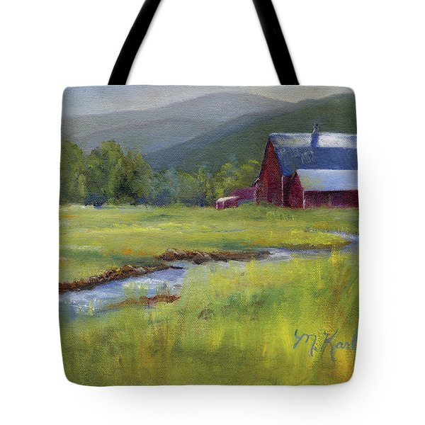 Montana Ranch Tote Bag