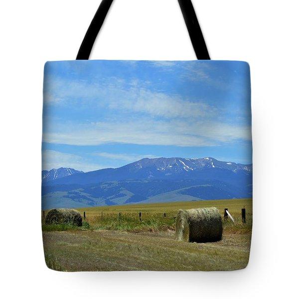 Montana Scene Tote Bag