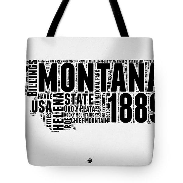 Montana Word Cloud 2 Tote Bag