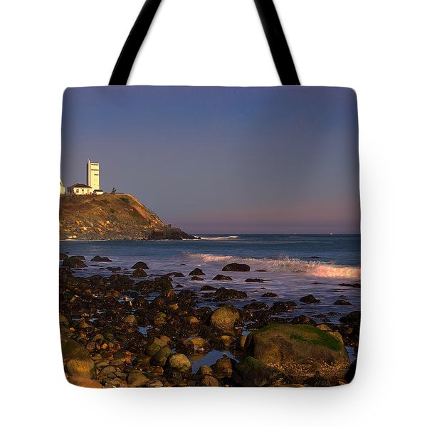 Montauk Lighthouse Tote Bag