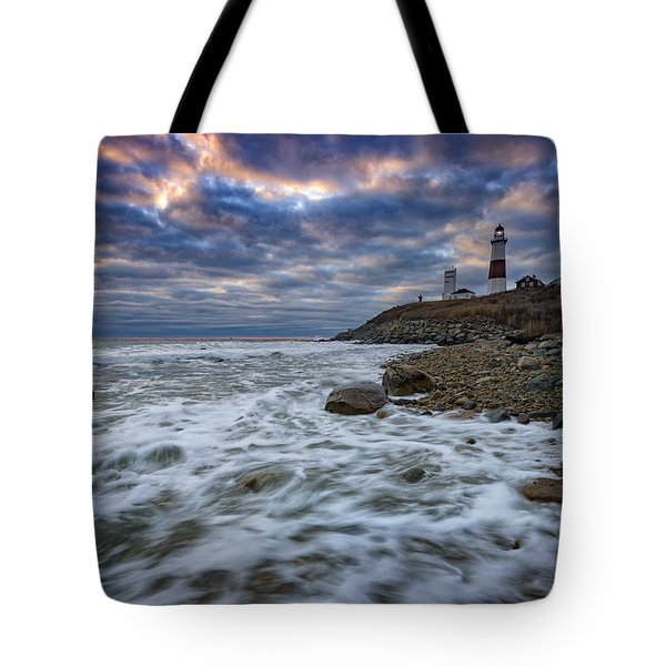 Montauk Morning Tote Bag by Rick Berk