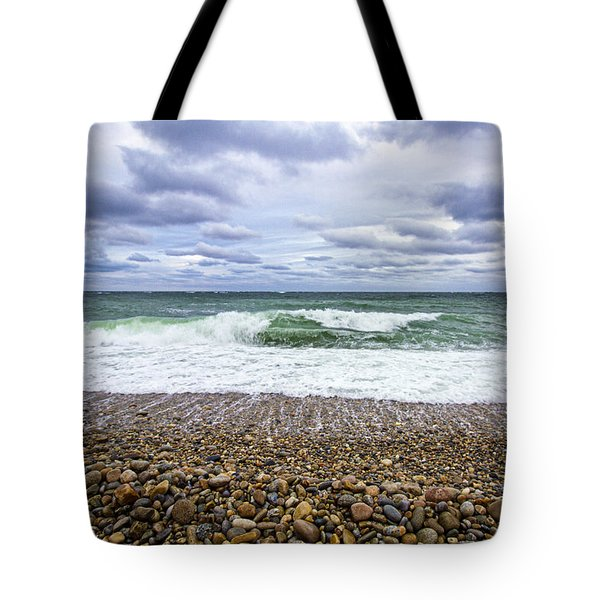 Montauk Shore Break Tote Bag